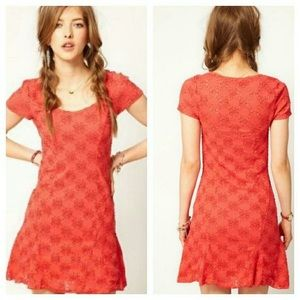 FREE PEOPLE DAISY GODET DRESS